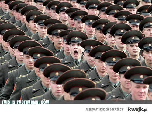 W wojsku jest nudno