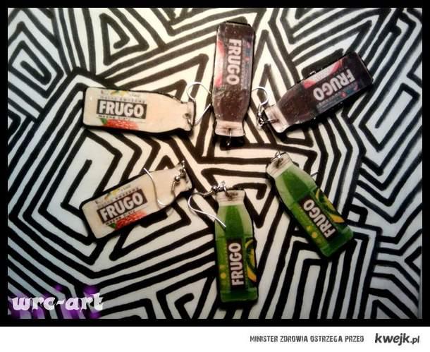 Kolczyki FRUGO <3