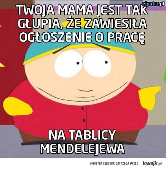 Twoja mama jest tak głupia, że zawiesiła ogłoszeni…