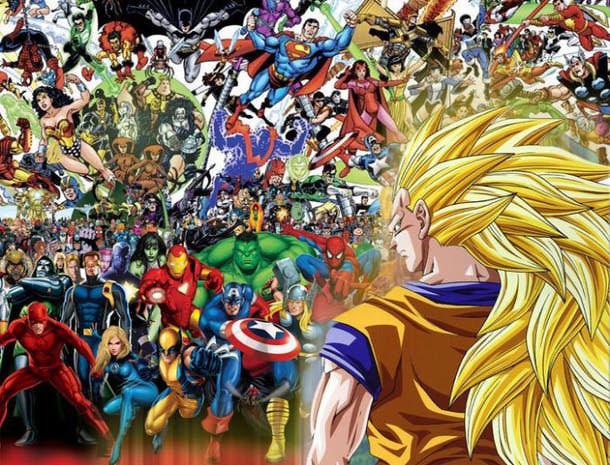 Goku vs Reszta
