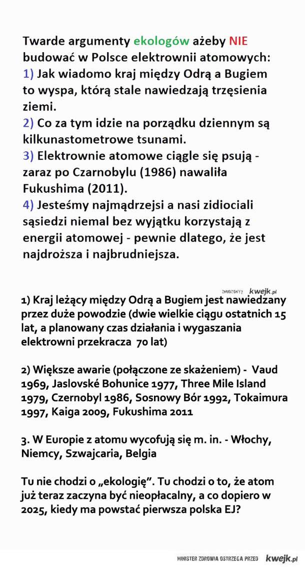 Elektrownia atomowa - riposta
