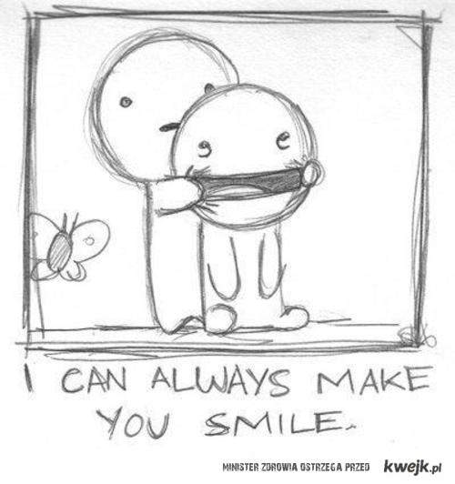 Make smile