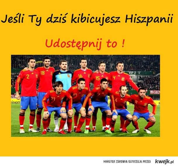 Kibice Hiszpani