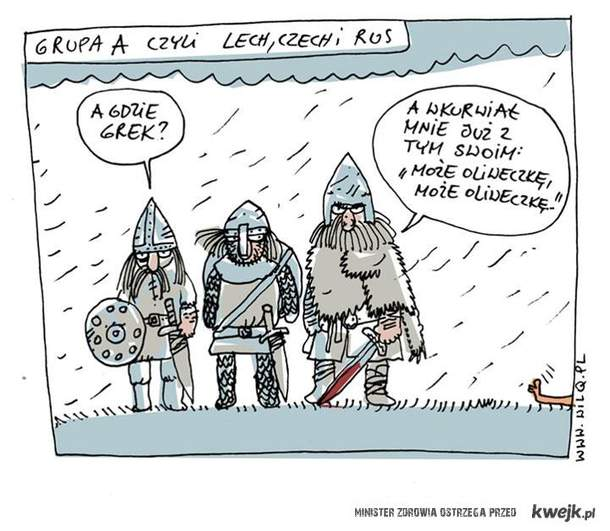 Denerwujący Grek