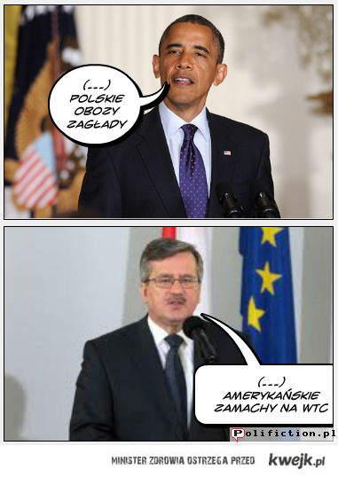 Bronek odpowiedział Obamie