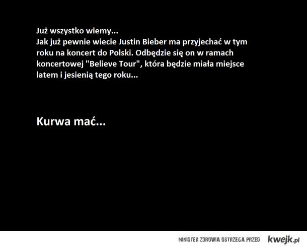 Justin w Polsce