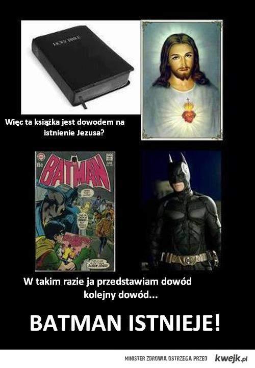 Dowód na istnienie Batmana