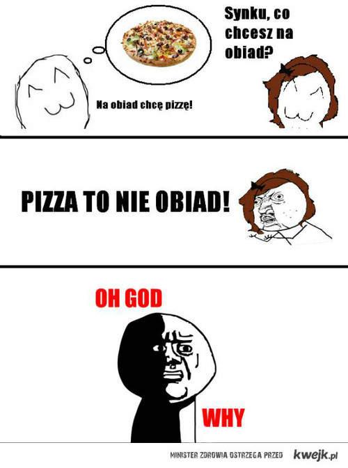 pizza to nie obiad