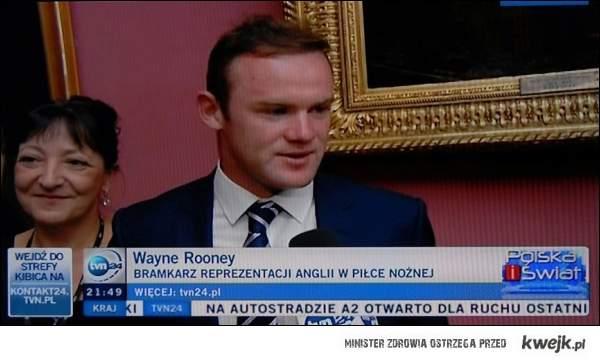 Wayne Rooney w tvn24