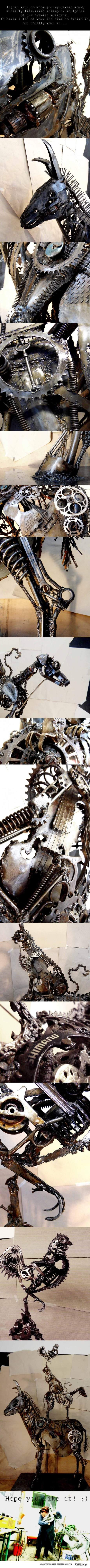 steampunkowe instrumenty