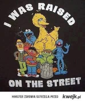 Wychowałem się na ulicy