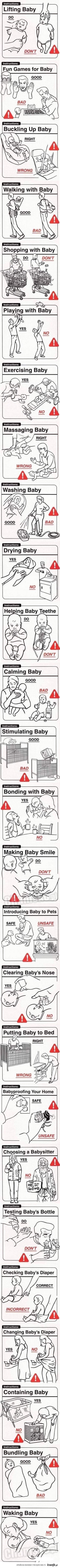Instrukcja wychowania dzieci :)
