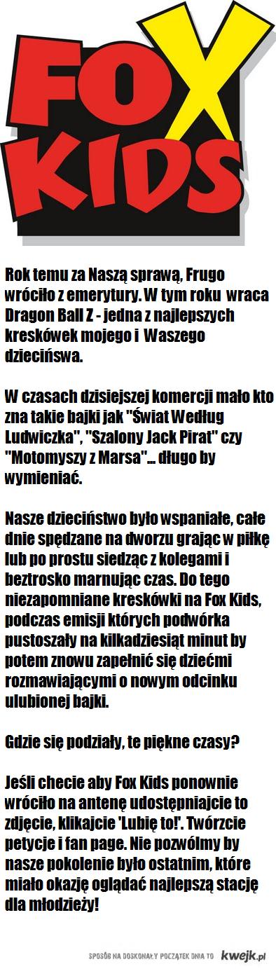 Przywróćmy Fox Kids!
