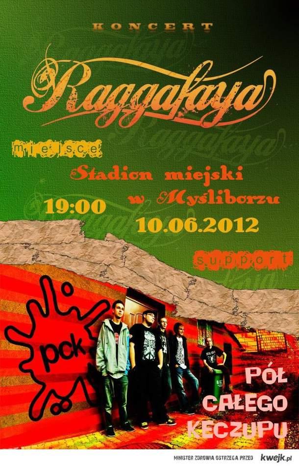 PÓŁ CAŁEGO KECZUPU + RAGGAFAYA // MYŚLIBÓRZ 10.06.2012!!!