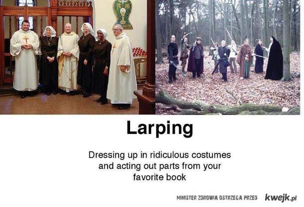 Wiesz co to Larping?