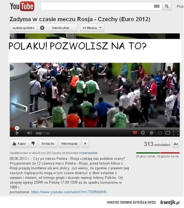 ruskie kacapy w Polsce