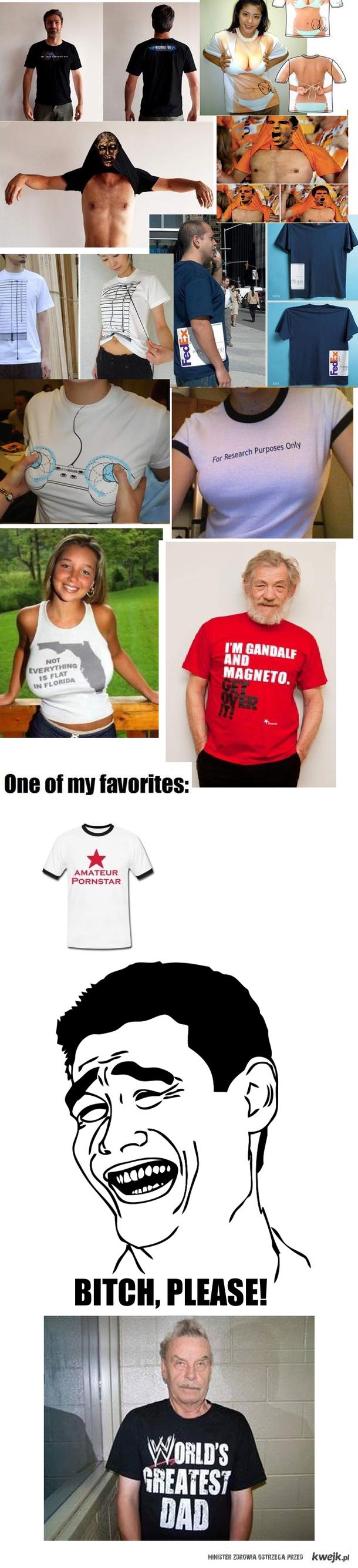Najlepsze koszulki