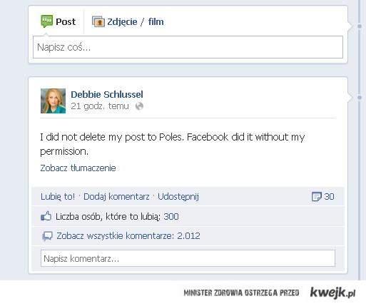 Facebook zadziałał