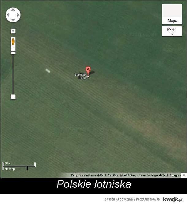 Nie ma to jak polskie lotniska