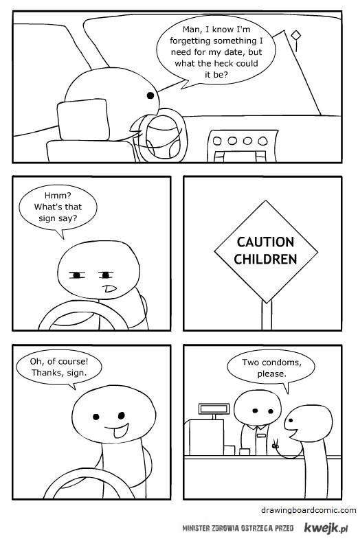 uwaga, dzieci