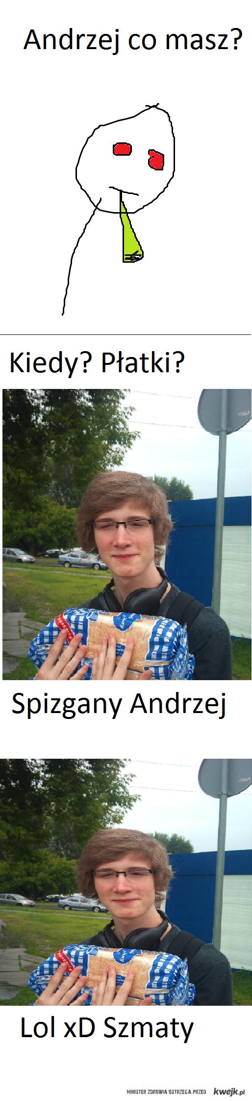 Spizgany Andrzej