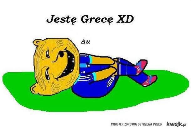 Oglądałam mecz Grecji, wiem co to aktorstwo dziwko