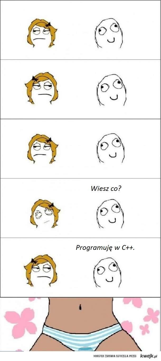 U programistów...