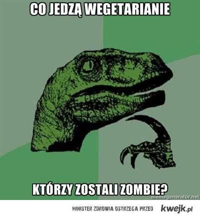 Wegetariańskie Zombie
