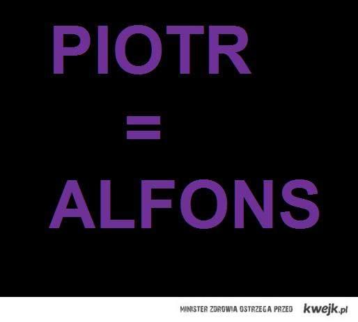 Alfons...