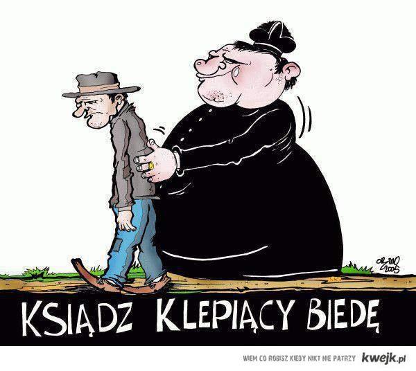 Ciężko w Polsce klerowi