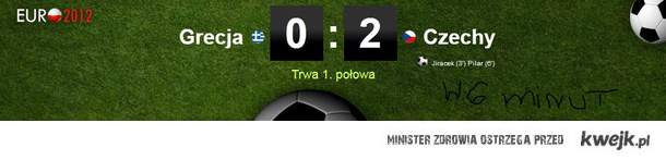 Grecja Vs Czechy ! 6min.