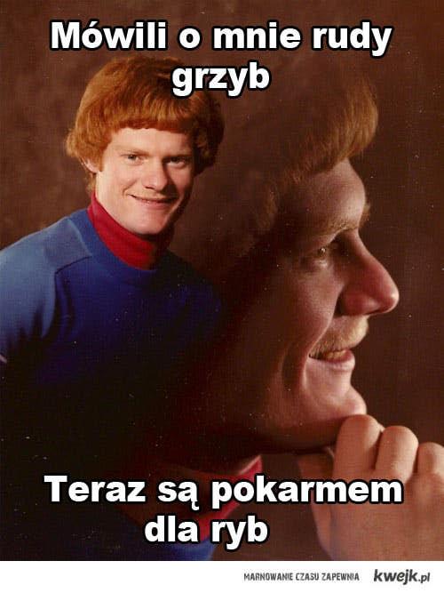 Rudy grzyb