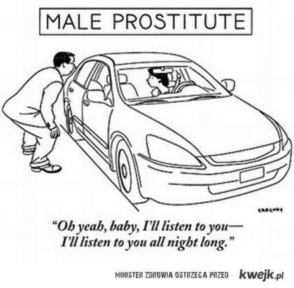 Męska prostytutka