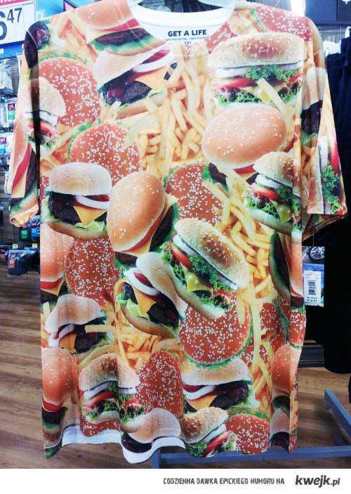 Hamburgerowa koszulka