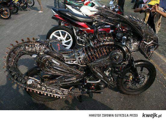 Obcy motocykl