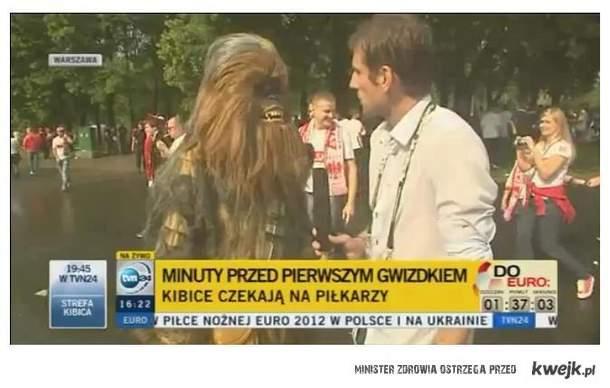 Chewbacca tez kibicuje :)