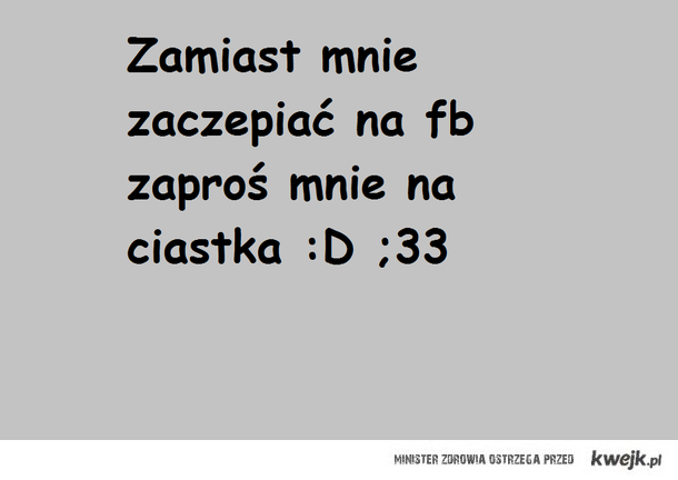 Ciastka :D