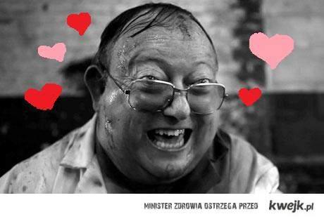 kochamy cię gościu z 'ludzkiej stonogi'!