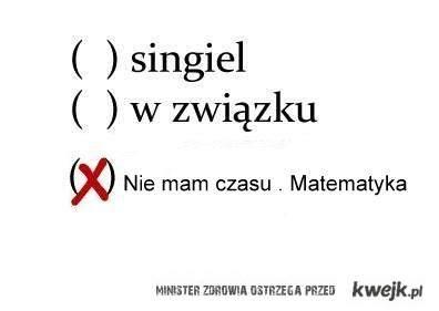 Miłości nie ma jest matematyka