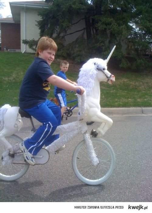 bike unicorn