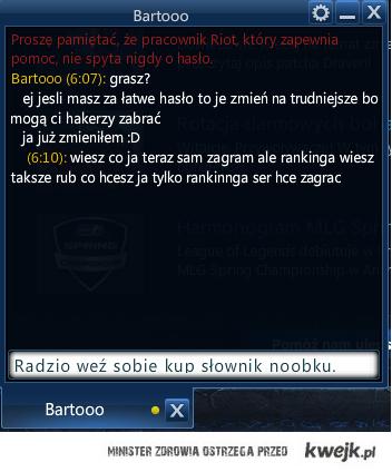 ortografia gracza League of Legends