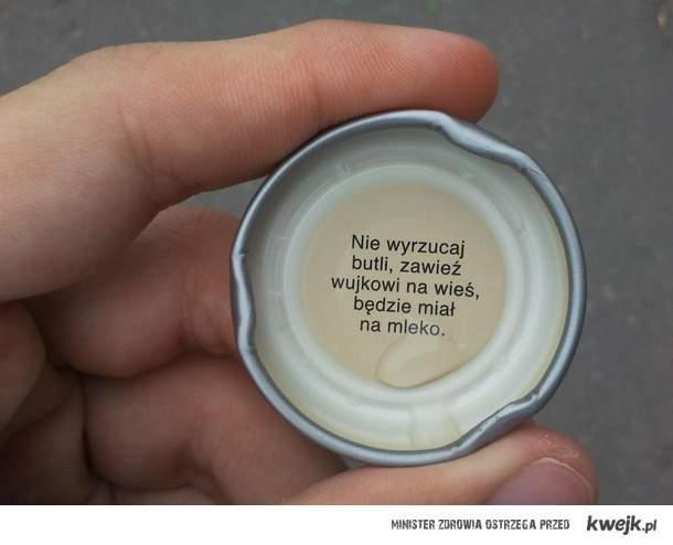 Nie wyrzucaj butli