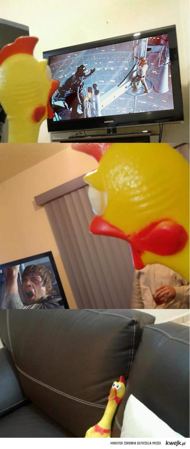 Dramatyczny kurczak