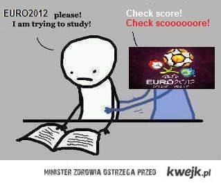 Sesja w trakcie EURO2012