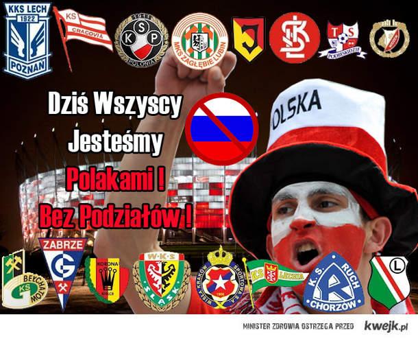 POLSKA, BIAŁO-CZERWONI !