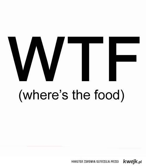 where's the food ?