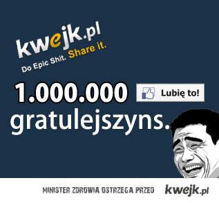 Milion lajków