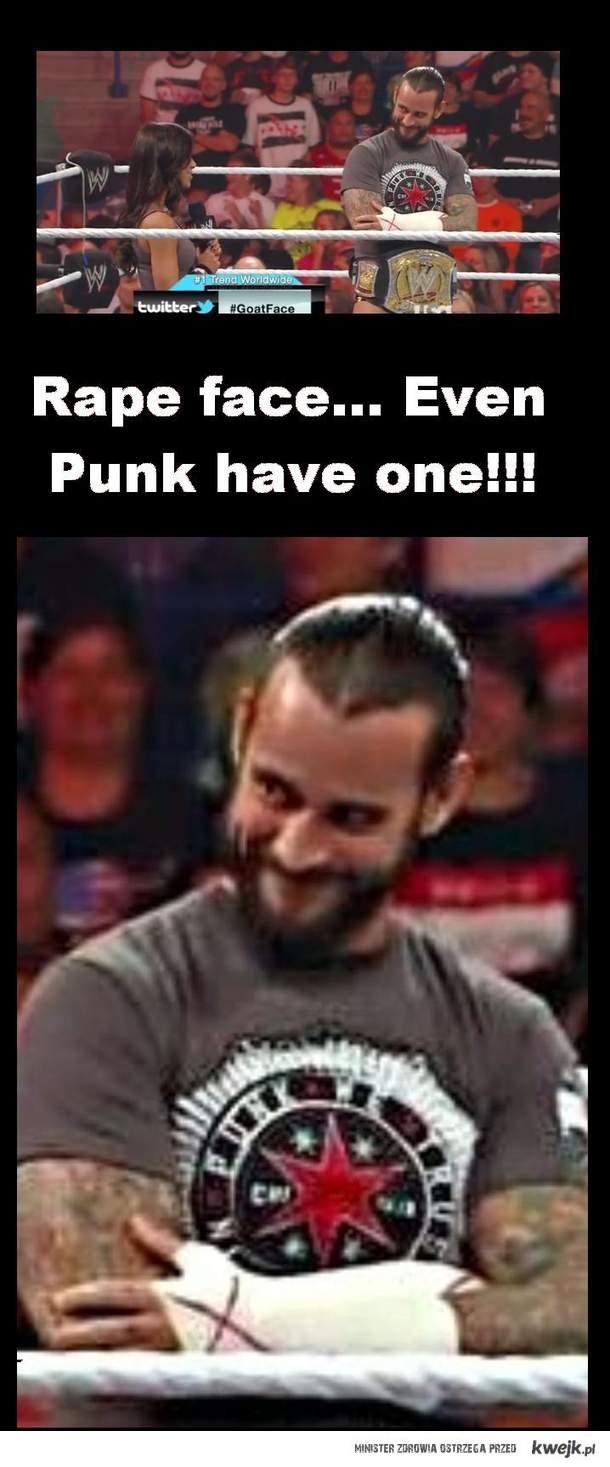 CM Punk rape face by MW