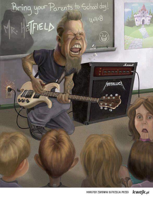HetfieldSchoolDay