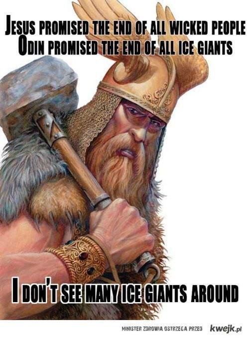 Jesus vs Odin :D